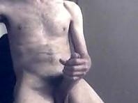 Hairy Jock Jerking Off In a Kinky Video