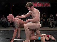 Nude fairy Dean Tucker gets his butt smashed on tatami